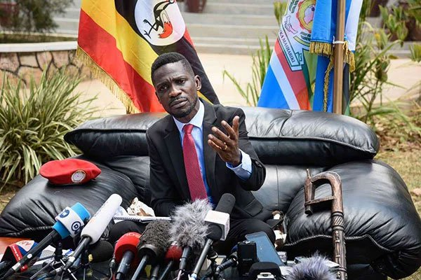 Bobi Wine says Uganda is looking at the young people with a lot of hope and optimism. (PHOTO/File)