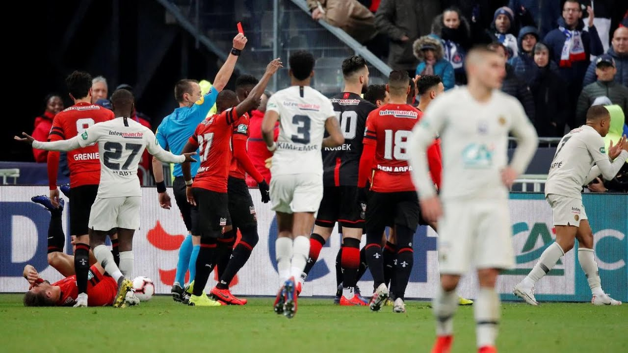Rennes defeated PSG to win the League Cup in April. (PHOTOS/Courtesy)