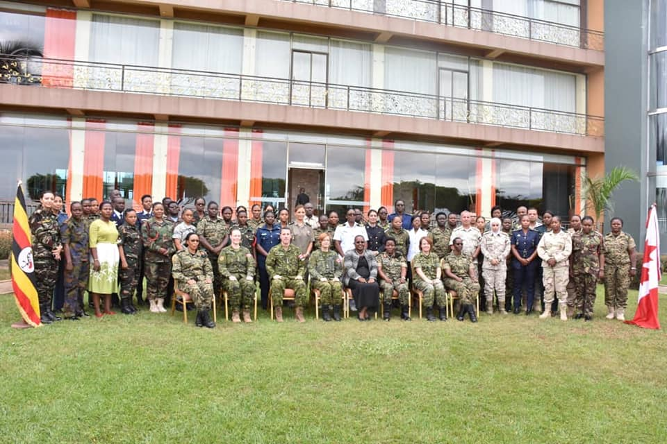 The group photo of military officers