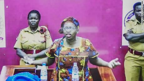 Stella Nyanzi was jailed for calling president 'a pair of buttocks. ""