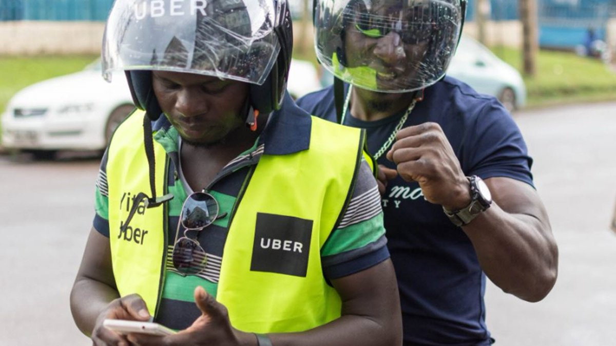 Uber hikes transport fares (PHOTO/File).