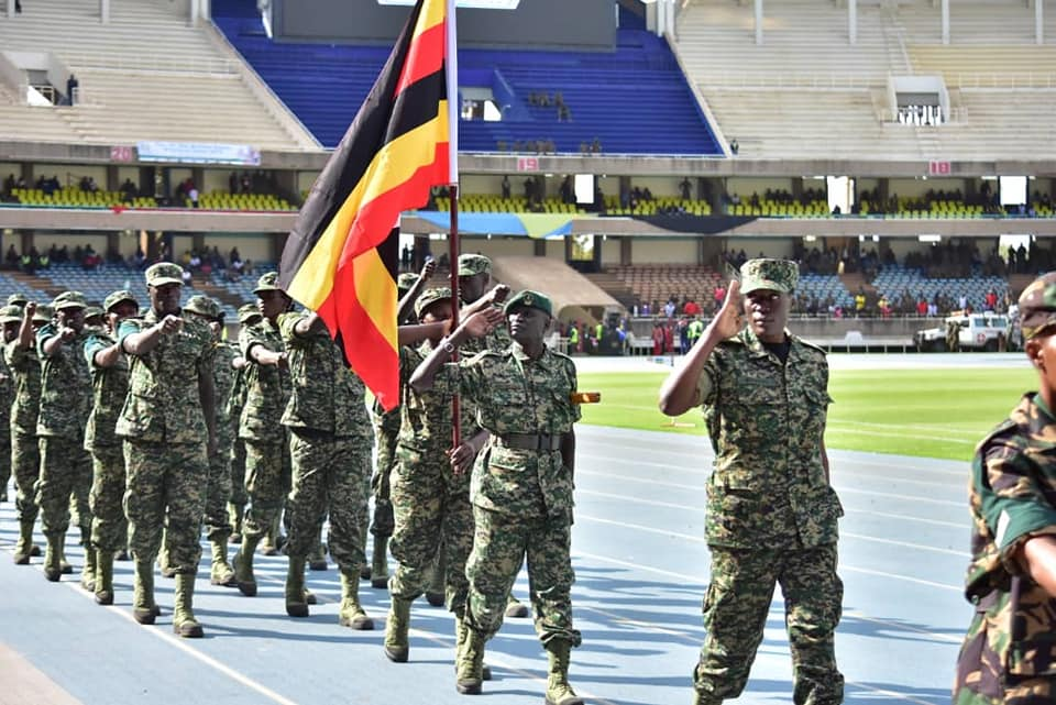 The 12th edition of the East African Community military games and cultural event 2019 launched in Nairobi Kenya. (PHOTO/Courtesy )
