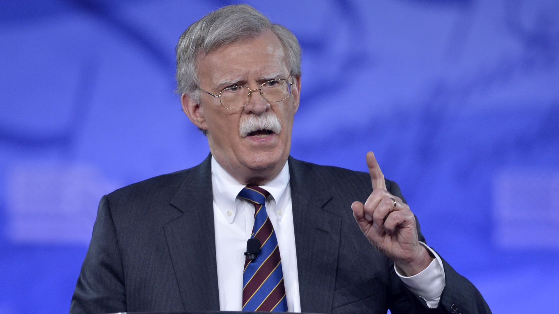 John Bolton speaks at CPAC in 2017.
