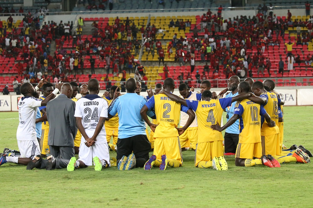 KCCA FC defeated African Stars in the preliminary round. (PHOTOS/KCCA FC)