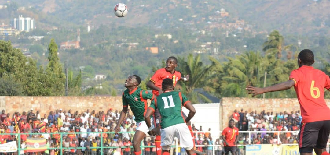 Action between Burundi and Uganda on Saturday. (PHOTO/Courtesy)