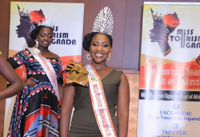 Some of the Miss Tourism Uganda unveiled on Friday at Serena Hotel Kampala (PHOTO/Courtesy)