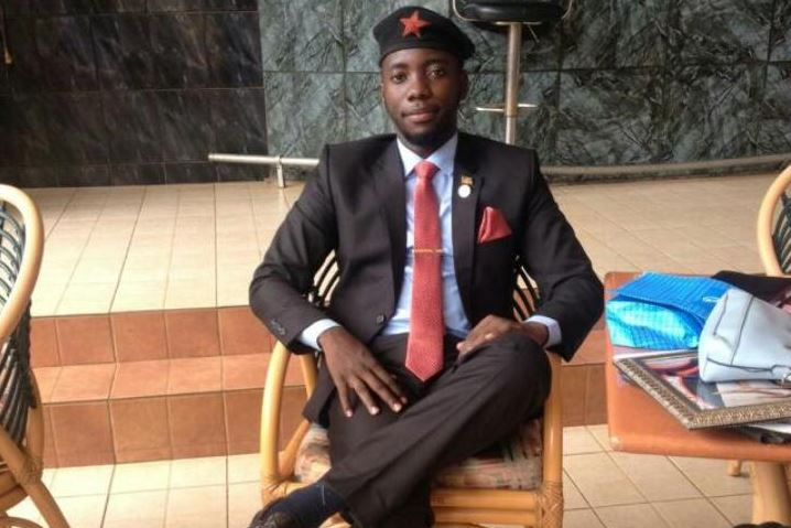 Kyambogo Guild President Jonathan Tundulu, the Kyambogo University Guild President. (PHOTO/FIle)