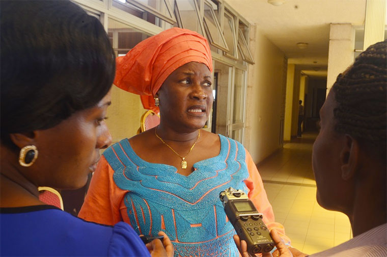 Mbale MP Connie Nakayenze says her life is in danger. (PHOTO/Courtesy)