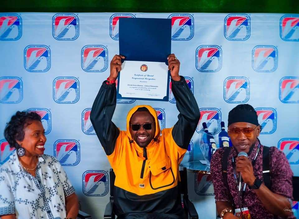 Ugandan music star Eddy Kenzo is the ambassador of popular US carnival