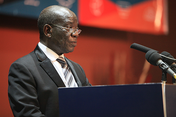 Edward Ssekandi, the Uganda's Vice President