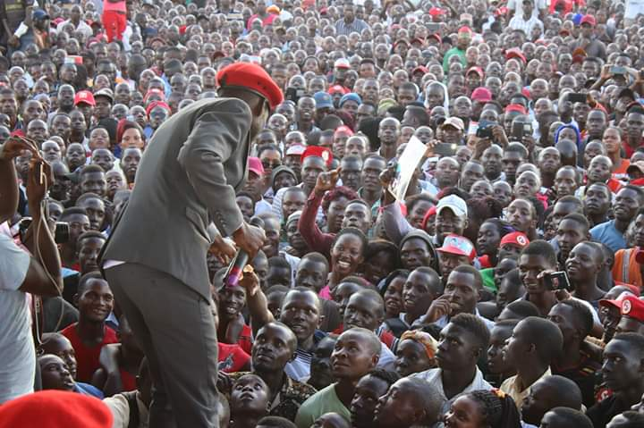 Bobi Wine has been warned against holding public rallies (PHOTO/Courtesy).