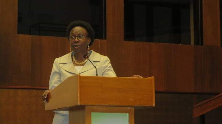 Health Minister Jane Ruth Aceng  says that government will acquire a new radiotherapy machine. (PHOTO/Javira Ssebwami)