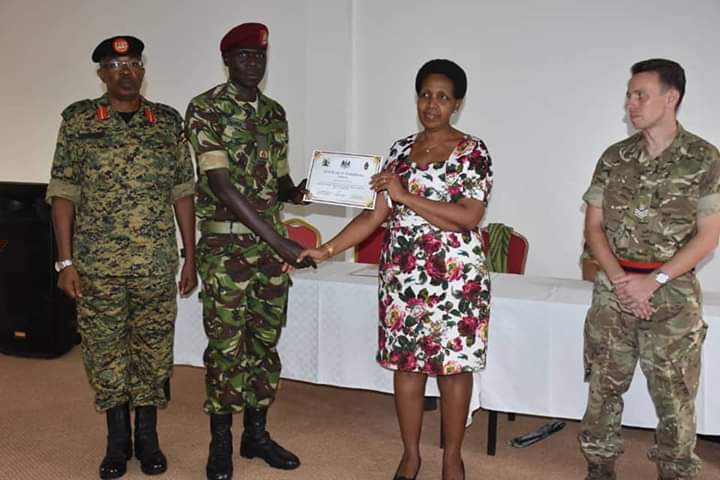 UPDF communications officers have been urged to uphold professionalism. (PHOTO/Courtesy)