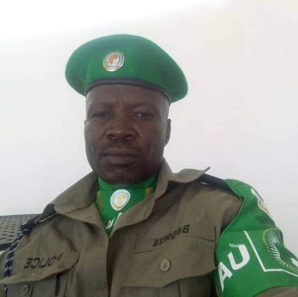 AIP Edward Bagonza was found dead at his residence in Mogadishu. (PHOTO/Courtesy)