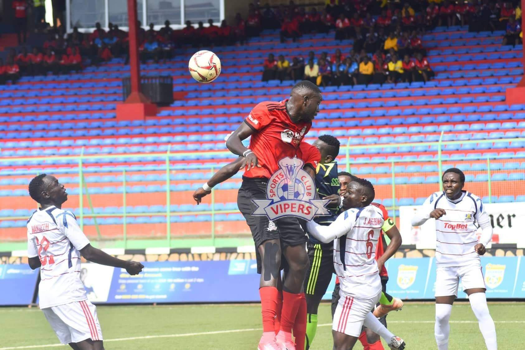 Action between Vipers SC and Mbarara City FC on Saturday afternoon. (PHOTO/Vipers SC)