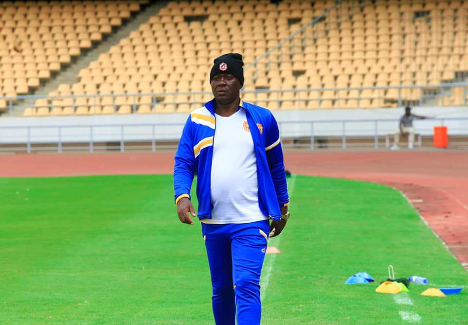 Mutebi anticipates another tough encounter against Petro de Luanda in the secon leg. (PHOTOS/KCCA FC)
