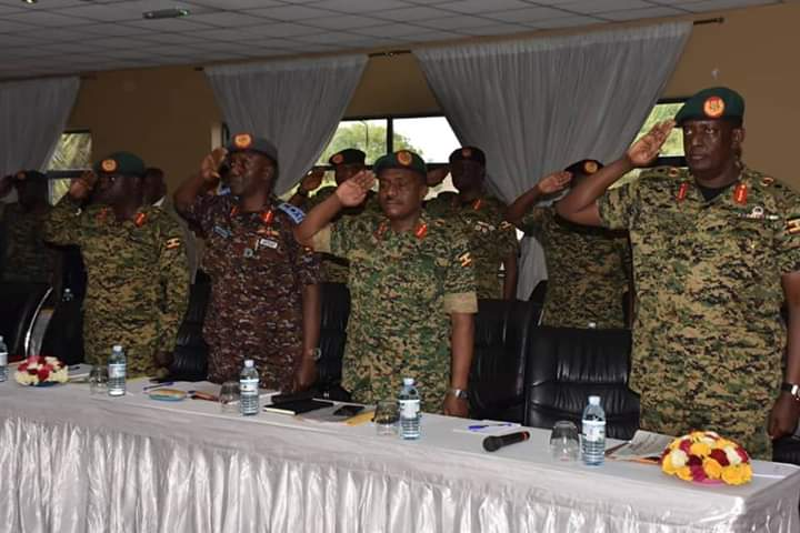 Security chiefs have started a two-day retreat at Speke Resort Munyonyo. (PHOTO/PML Daily)