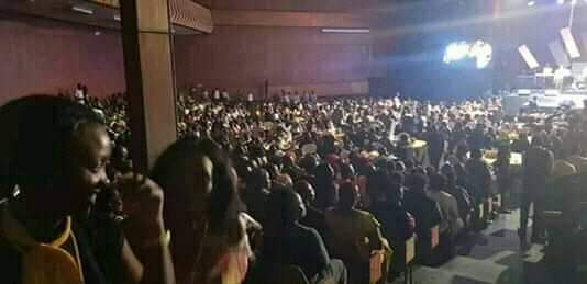 Revellers at Catherine Kusaasira concert at Serena Hotel in Kampala. (PHOTO/Courtesy)