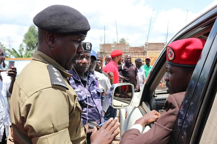 Police has raided Bobi Wine hotel in Wakiso District. (PHOTO/File)