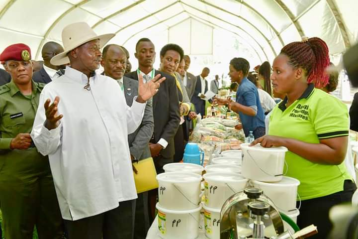 President Museveni will officiate at the Rwenzori Investment Expo (PHOTO/File)