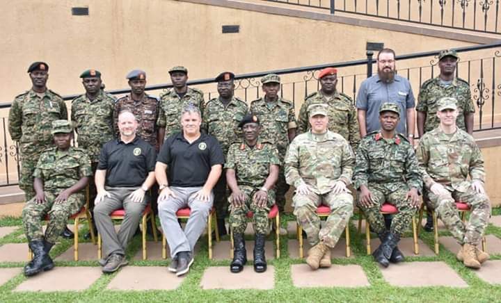 UPDF and United States Army have to produce CIMIC syllabus. (PHOTO/Courtesy)