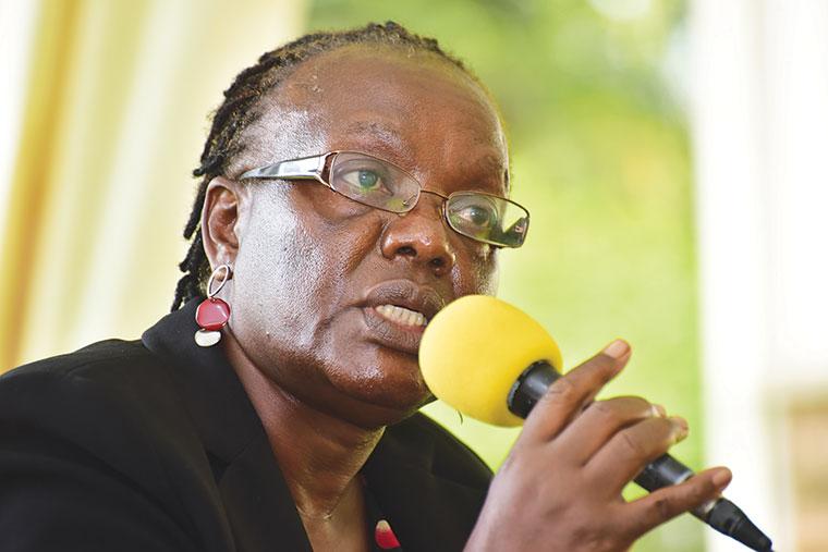 Ms Grace Baguma, the NCDC executive director,