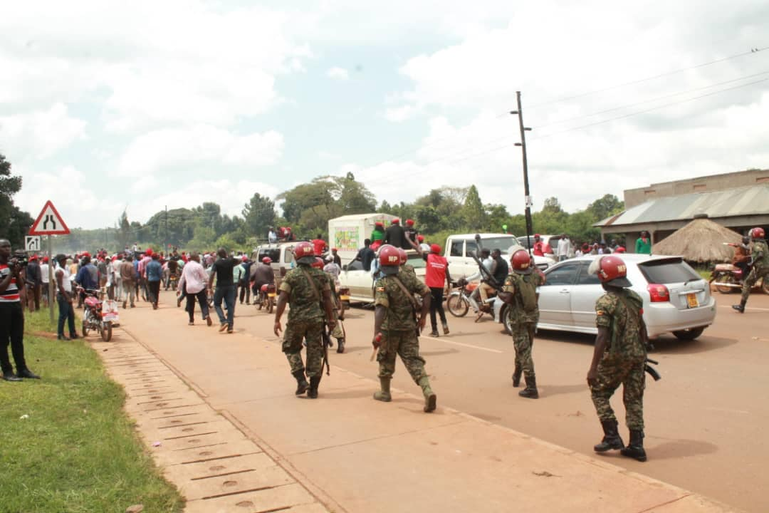Heavy military presence in Hoima polls