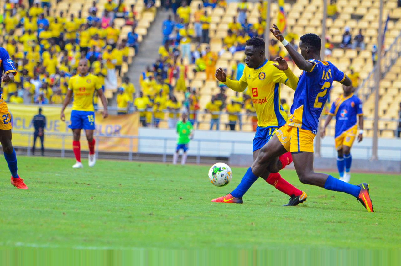 The first leg fixture between the two sides ended goalless in Luanda. (PHOTO/KCCA FC)