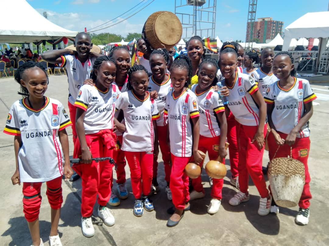 Pupils of Clevers' Origin Junior School, Kitintale at the JAMAFEST in Dar es Salaam, Tanzania. (PHOTO/Courtesy)