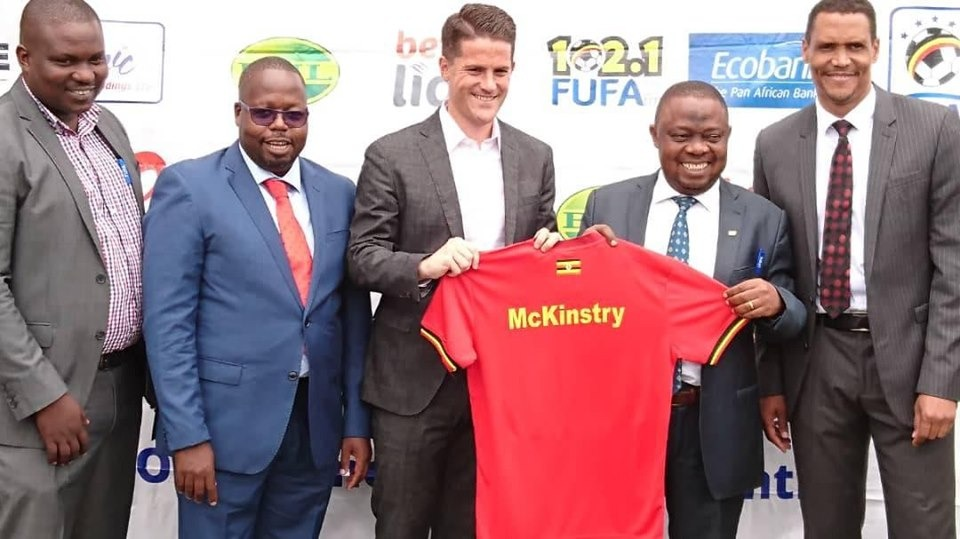 Jonathan Mckinstry (center) took over the Cranes job on September 30th. (PHOTO/File)