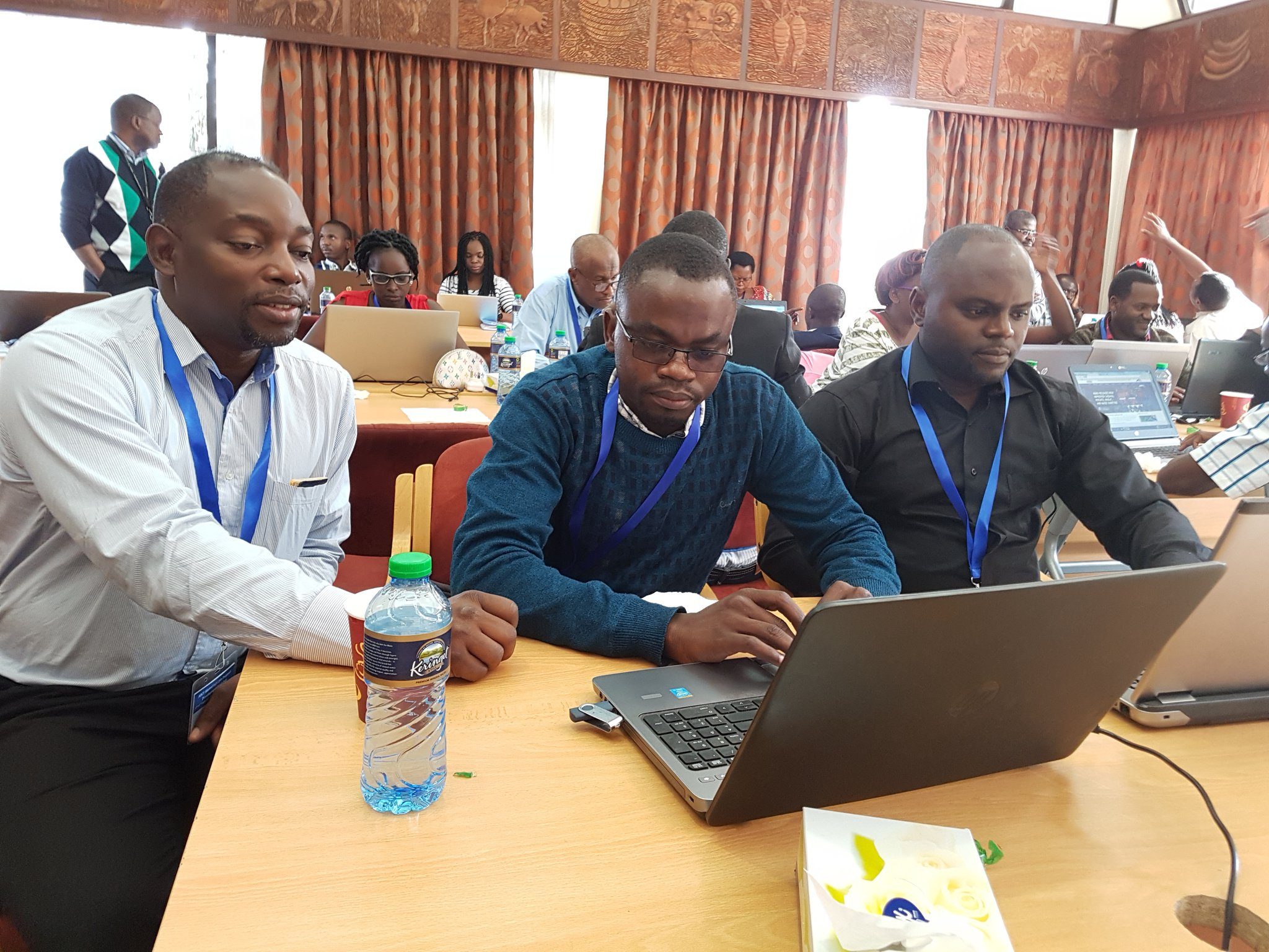 (L-R) Dr. John Walakira attended a top meeting on aquaculture in Nairobi recently. (PHOTO/Courtesy)