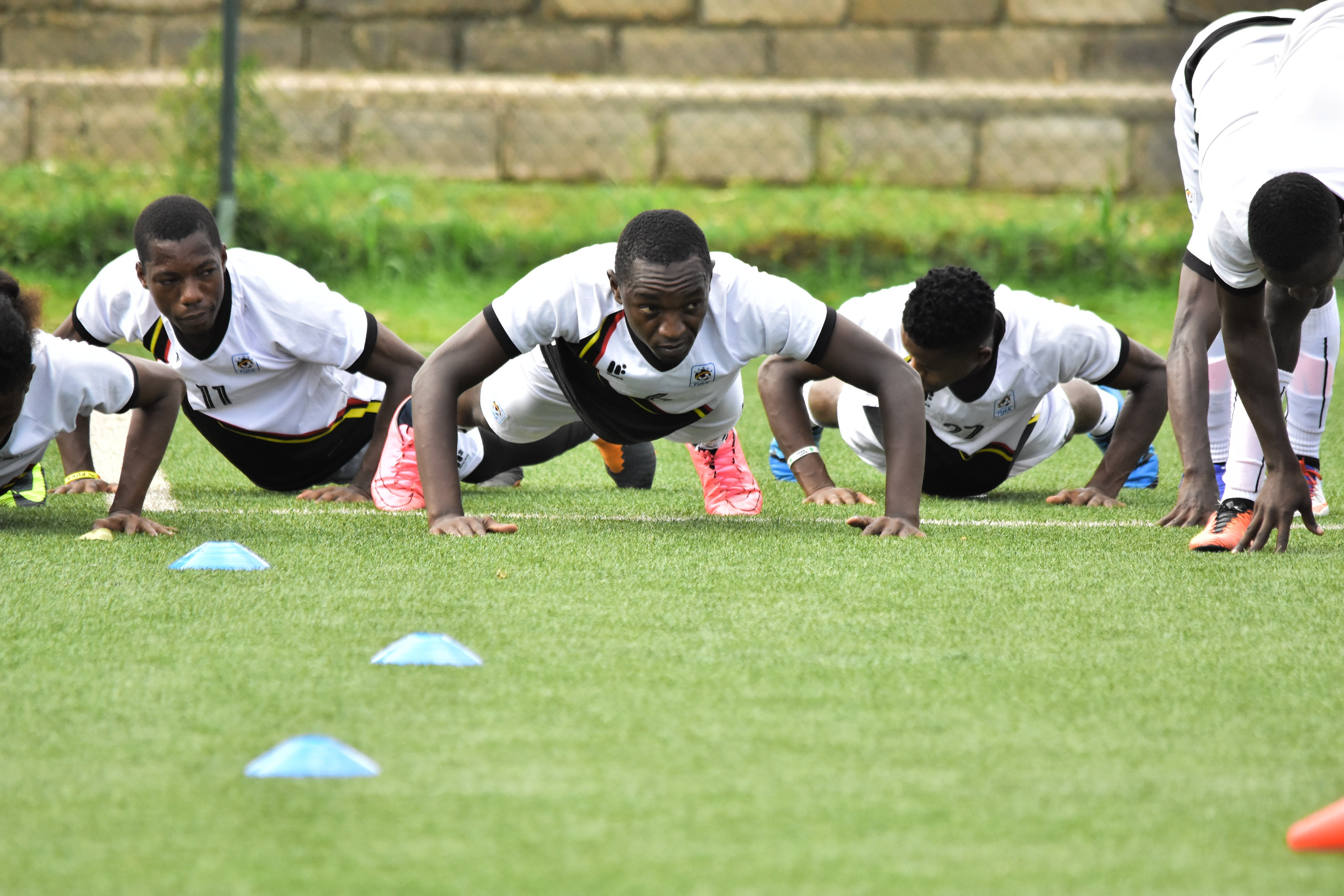 The squad now has 27 players from the 32 that were earlier summoned. (PHOTO/FUFA)