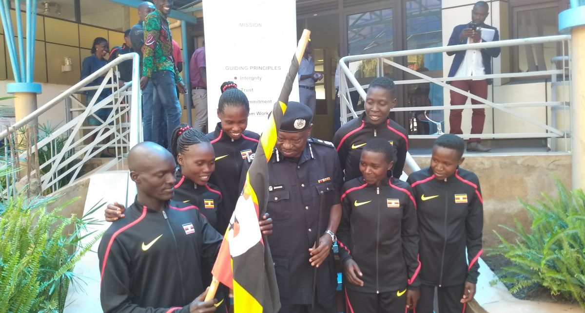 Six of the 22 athletes were flagged off on Tuesday. (PHOTO/Courtesy)
