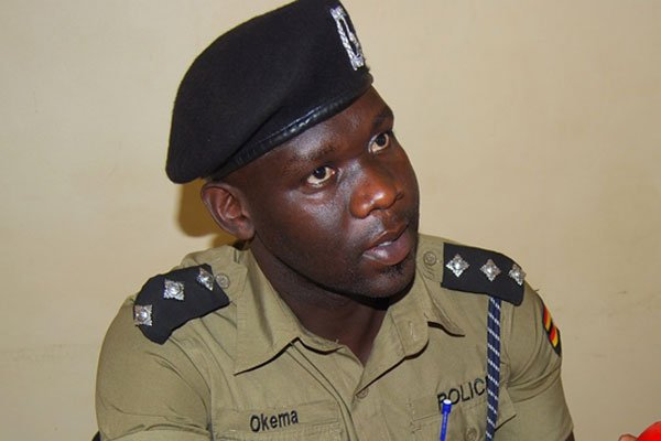 Jimmy Patrick Okema the Aswa Police Spokesman