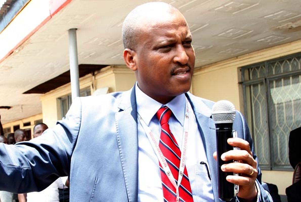 EC spokesperson Jotham Taremwa