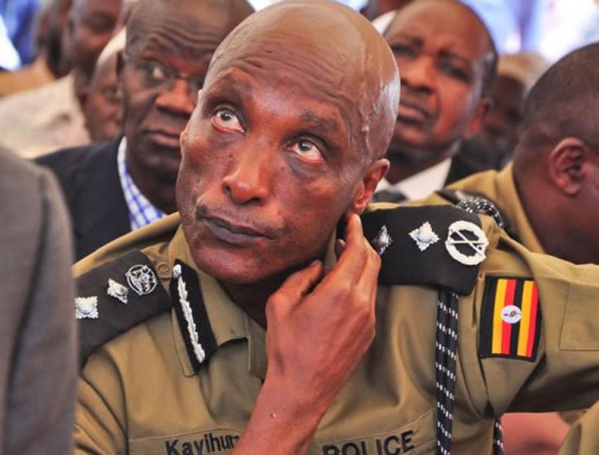 Former Inspector General of Police Gen. Kale Kayihura.