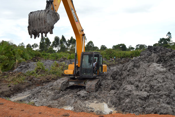 The Masaka district chairperson, Mr Jude Mbabaali, said the Chinese defied his directive to halt excavation. (PHOTO/File)