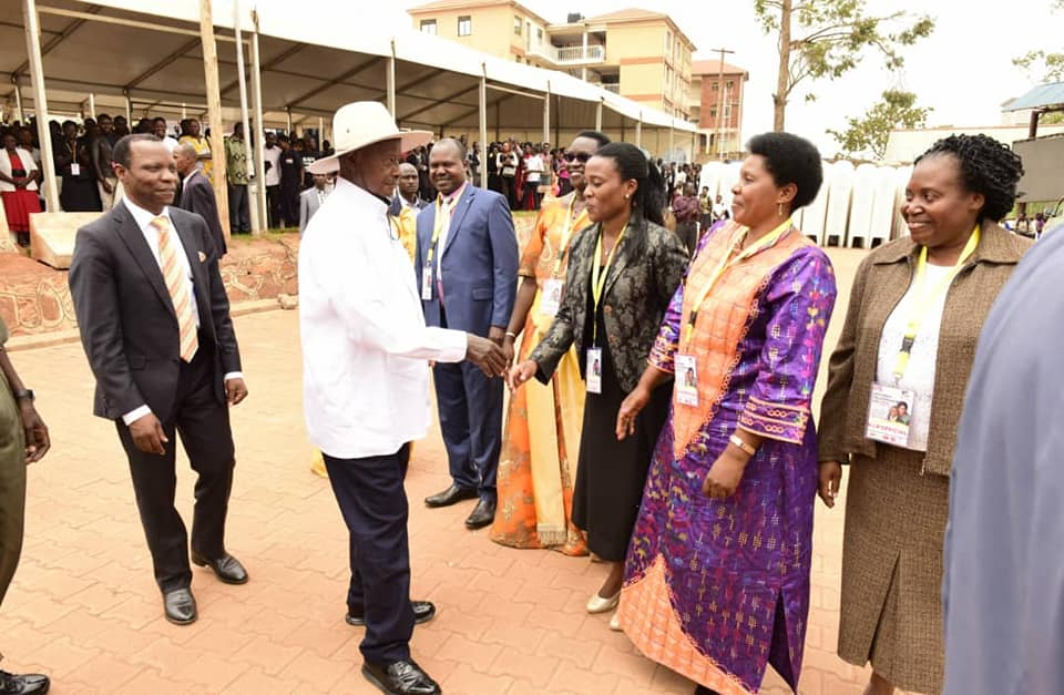 Image result for photos of president museveni ppu