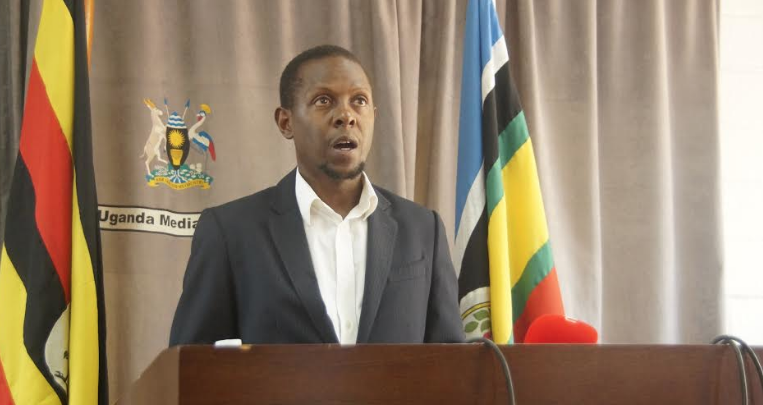 Mr Ssubi Kiwanuka, the public affairs officer at Uganda Media Centre