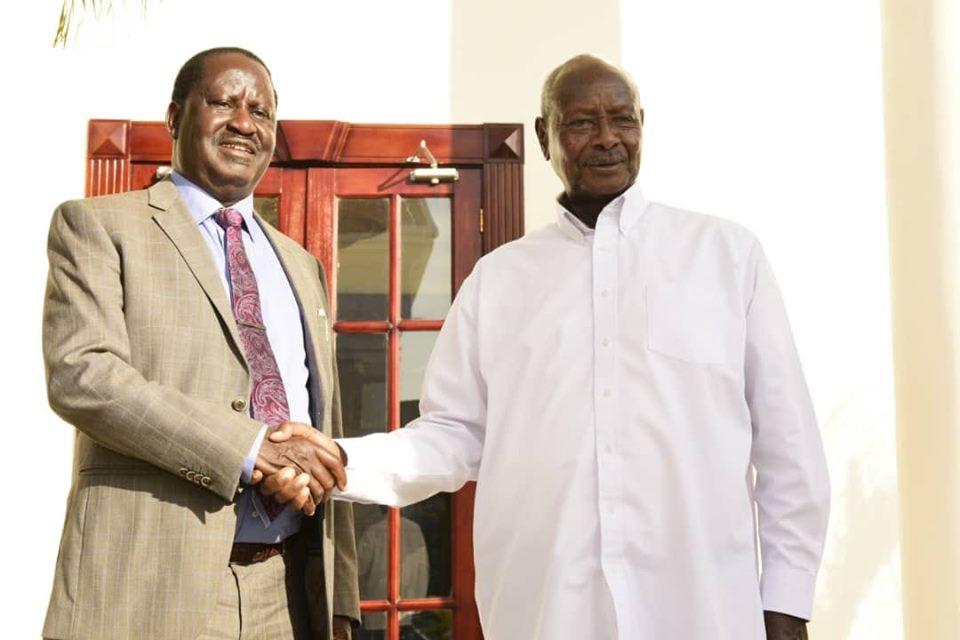 Museveni, Odinga