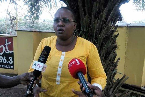 NRM women league chairperson Lydia Wanyoto.