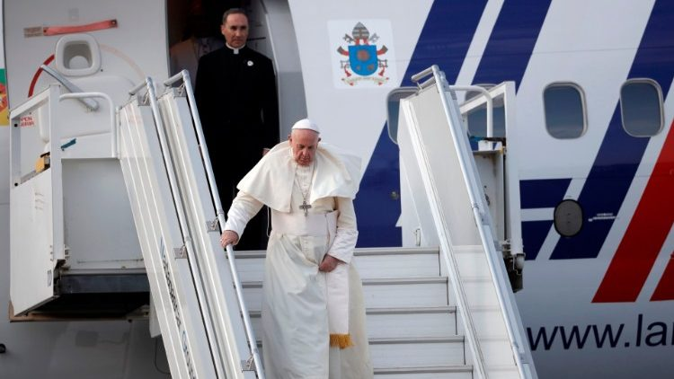 The papal plane taking Pope Francis to Madagascar, for the second leg of his Apostolic Visit to three southern African nations, has arrived in the capital, Antananarivo.