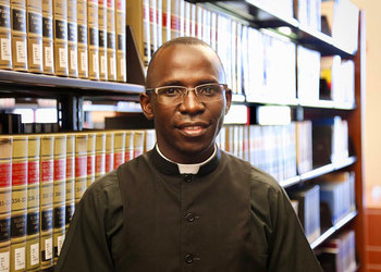 Fr. Joseph Lugalambi, a Roman Catholic Priest of Masaka Diocese.