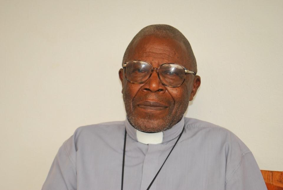 Rev. Fr Kamugyene while still alive