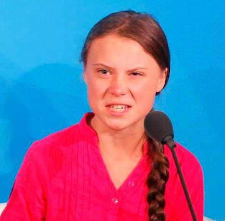 Greta Thunberg, a 16-year-old Swedish schoolgirl championing climate change drive. (PHOTO/File)