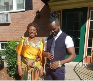 Singer Bebe Cool and his mother who was allegedly threatened due to son's support to NRM (PHOTO/File)