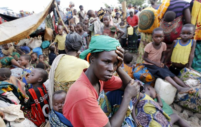 If the United Nations World Food Programme (WFP) fails to get the $16 million it needs monthly to provide food, refugees who are constantly trooping into Uganda could starve.  (PHOTO/File)