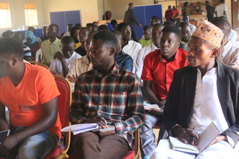 Students at Islamic University in Uganda have been lectured on Film Production. (PHOTO/PML Daily)