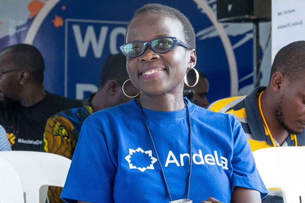 Jackie Ochola is the country director for Andela Uganda, a technology company that trains African students in the field of software engineering and connects them to companies around the world. (PHOTO/File)