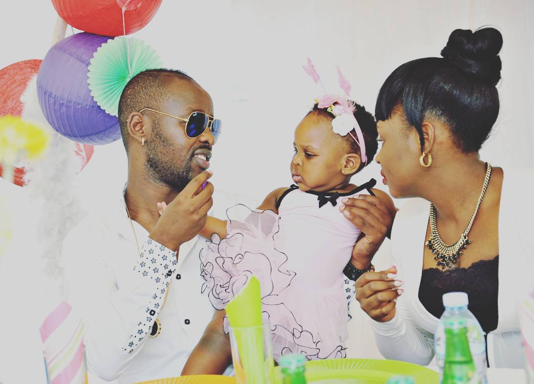 Singers Eddy Kenzo and Rema Namakula have a daughter together (PHOTO/File)